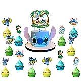 25pcs Lilo and Stitch Cake Topper, Lilo and Stitch...