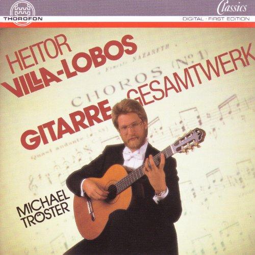 Douze Etudes (12 Estudos) Pour Guitare: VIII. No. 8 Cis-Moll
