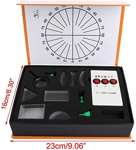 Laboratory Equipment Optical Concave bolle lens Prism Set Physical Optical Kit