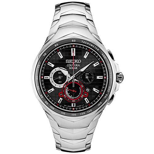Seiko Men's Japanese Quartz Stainless Steel Watch Now $201.30 (Was $525.00)