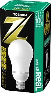 東芝ライテック 電球形蛍光灯 ネオボールZリアルA形100W昼白色