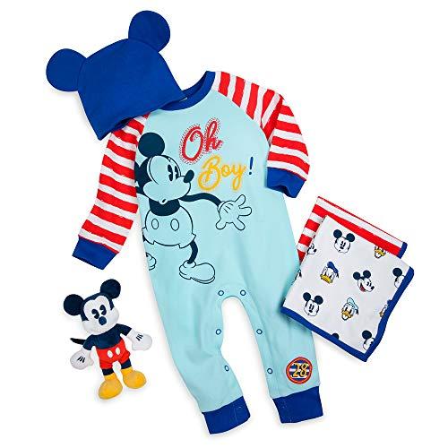 Disney Coffret cadeau Mickey Mouse pour bébé Taille 12-18...