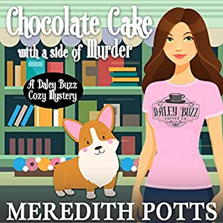 Chocolate Cake with a Side of Murder  audiobook cover art