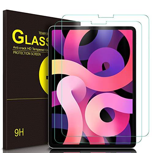 ELTD Pellicola Protettiva iPad Air 4a Generazione, Pellicola per Protettiva iPad Air 10.9', Vetro Temperato Protezioni Pellicola per iPad Air 2020 10.9' (2-Pezzi)
