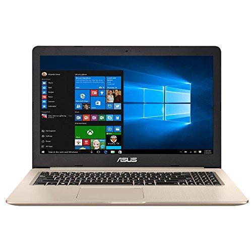 ASUS VivoBook Pro N580VN-DM122T Nero, Oro Computer portatile 39,6 cm (15.6') 1920 x 1080 Pixel 2,8 GHz Intel Core i7 di settima generazione i7-7700HQ