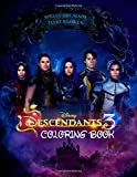 Descendants 3 Coloring Book: Jumbo Descendants 3 Coloring Book With 50 Plus Premium Images for Kids and Adults - Vol 2