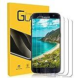NONZERS 3 Unidades Cristal Templado para Samsung Galaxy S7, 9H Dureza Protector de Pantalla, Resistente a Araaozos y Golpes, Sin Burbujas, Anti Dactilares Vidrio Templado para Samsung Galaxy S7