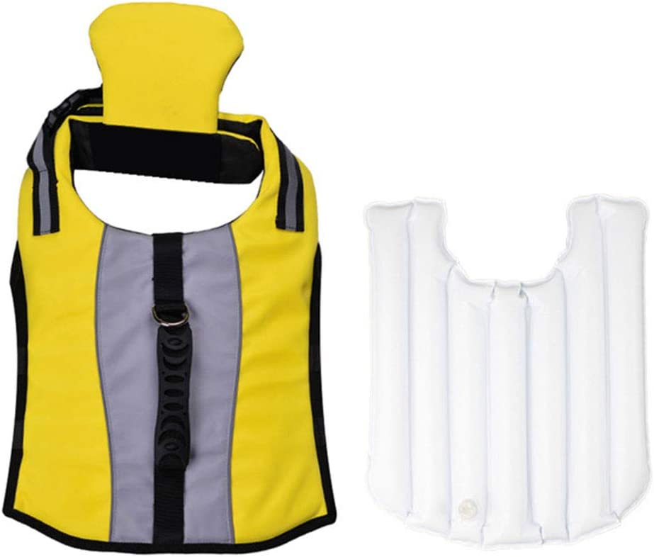 Greneric Pet Life Jacket Inflatable Safet Portable Foldable Sacramento Mall and Regular discount