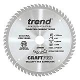 Trend Craft Pro <span class='highlight'>saw</span> <span class='highlight'>blade</span> - <span class='highlight'>165mm</span> diameter <span class='highlight'>20mm</span> bore 60tooth <span class='highlight'>TCT</span>