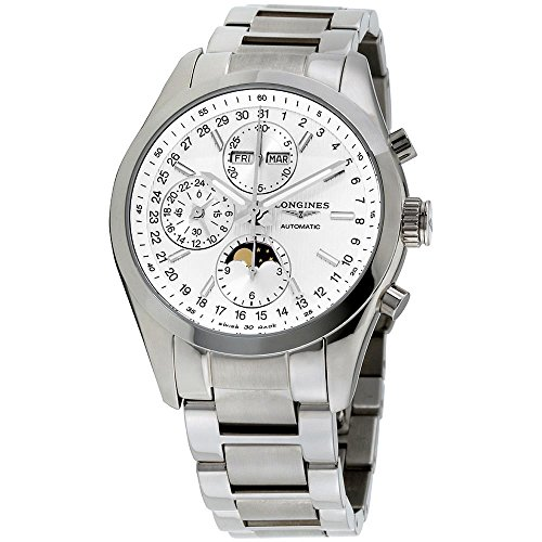 Longines Conquest Classic Automatic Chronograph Moonphase Mens Watch Calendar L2.798.4.72.6