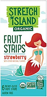 Stretch Island Strawberry Company Organic Fruit Strips, 2.96 Ounce