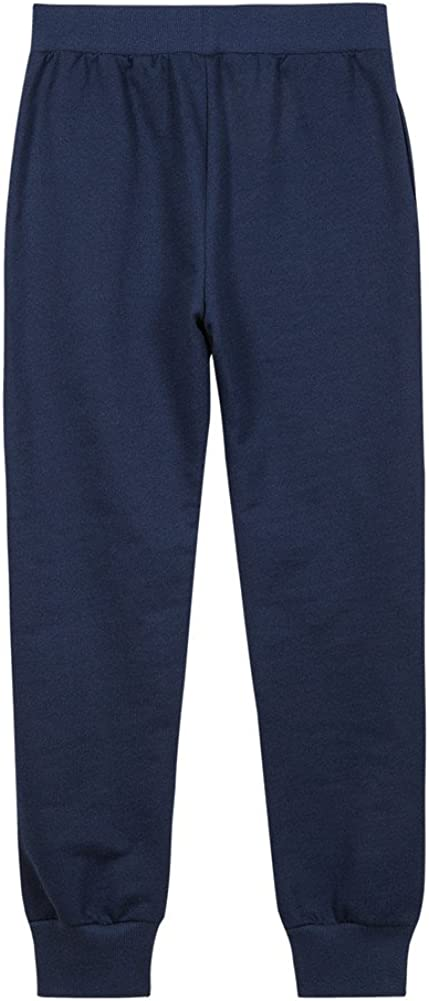 UNACOO Girls Soft Sweatpants French Terry Pull-on Joggers