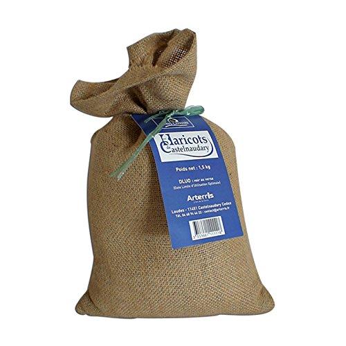 Haricots secs du Lauragais Castelnaudary 1,5 kg