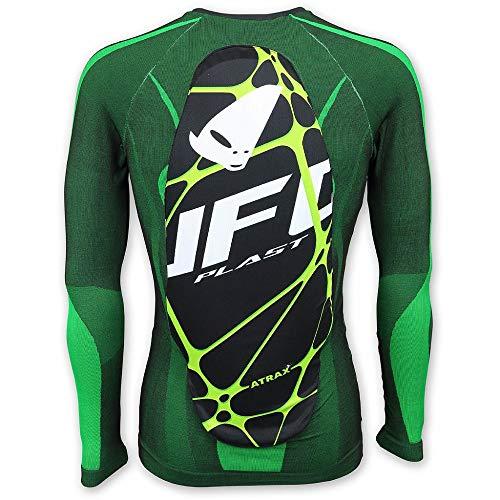 Ufo Plast PS02385AL/XL, Unterhemd mit Schutz Atrax, Unisex, Erwachsene, Schwarz, L/XL