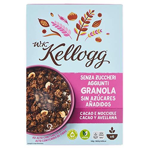 KELLOGGS cereales wk granola con cacao y avellanas caja 300 gr