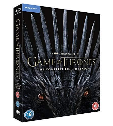 Game of Thrones: Season 8 [Blu-ray] [2019] [Region Free]
