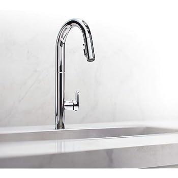 American Standard 4931360 002 Beale Measure Fill Touch Kitchen Faucet Chrome Amazon Com