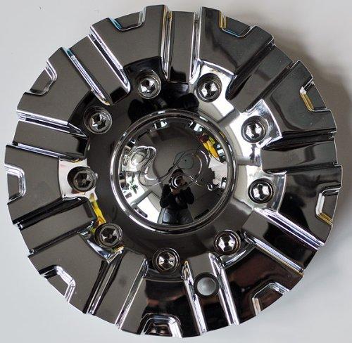 U2 Wheels U2-55 CC378-2P Chrome Wheel Center Cap