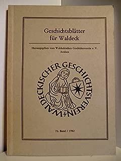 Geschichtsblätter für Waldeck 70. Band 1982.
