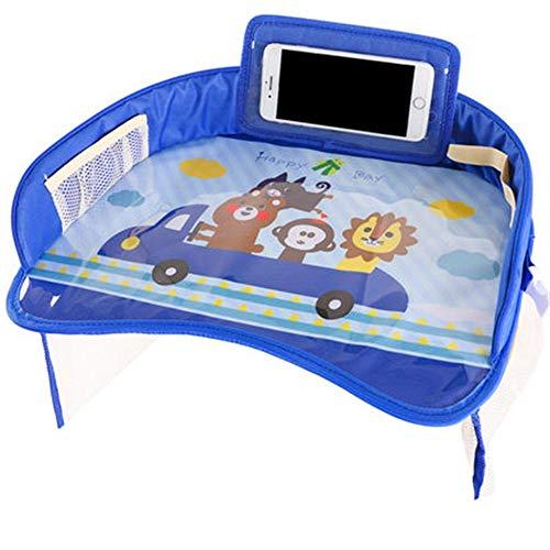 Susulv-CPT Bébé Voiture Trays- siège d'auto for Enfants avec des Jouets Plateau Baby Watch Mobile Video Cadre Poussette de bébé Jeu de société, Auto pour bébé Plateau de siège