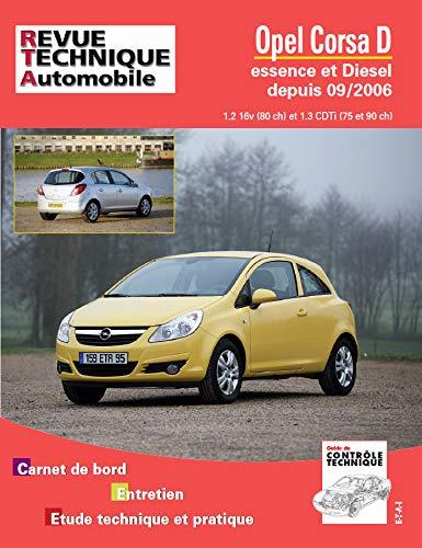 Opel Corsa D - essence et diesel depuis 06-2005