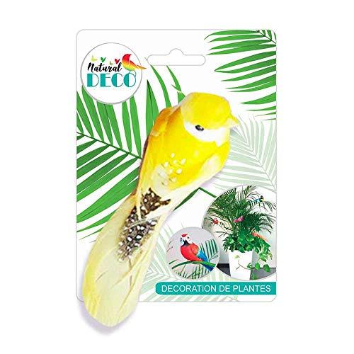 STC Déco Plantes – Petit Oiseau Jaune CD3832