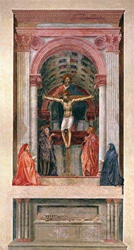 """Trinity by Masaccio - 15"""" x 30"""" Premium Canvas Print"""