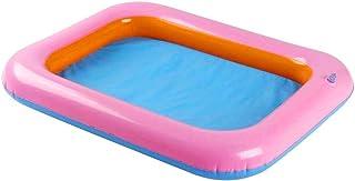Holmeey Castillo inflable de arena de los niños del castillo inflable interior del PVC castillo arenero de arena colorida mesa de maní interior divertido juguete para los niños