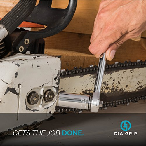 DIA-GRIP Universal Socket 3pcs Tool set (7-19mm)  Bushing Ratchet wrench set   Tools for men set   Wrench Power Drill Adapter Set   Super Socket Professional Repair Tool   Handyman special gift