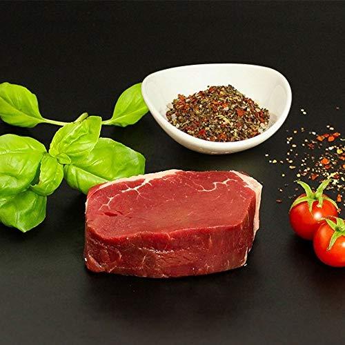 KAUF DEIN STEAK 5 * Rinderfilets (DRY AGED am Knochen gereift) inkl. Steakpfeffer, 1,1kg Fleischgenuss, perfekte Steaks grillen, bestes Fleisch