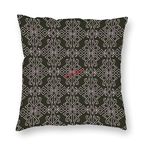 VinMea Decorative Pillow Covers Modern Simple Cushion Covers for Sofa Bedroom Home Office Decor 20x20 Inch
