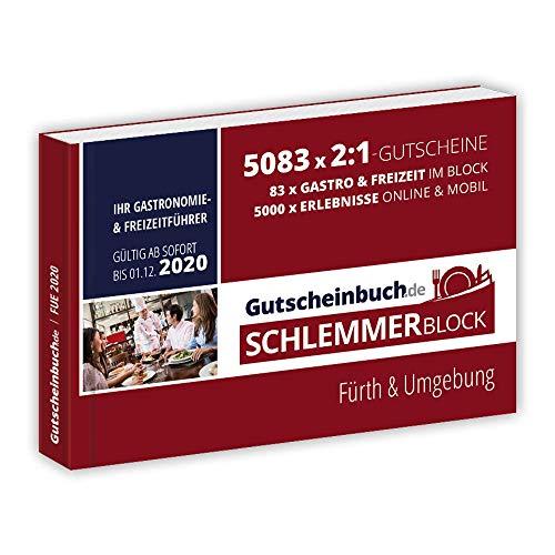 Gutscheinbuch.de Schlemmerblock Fürth & Umgebung 2020