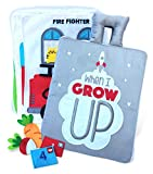 Curious Columbus Quiet Book. When I Grow Up. Fabric Busy Book. Educational Activity