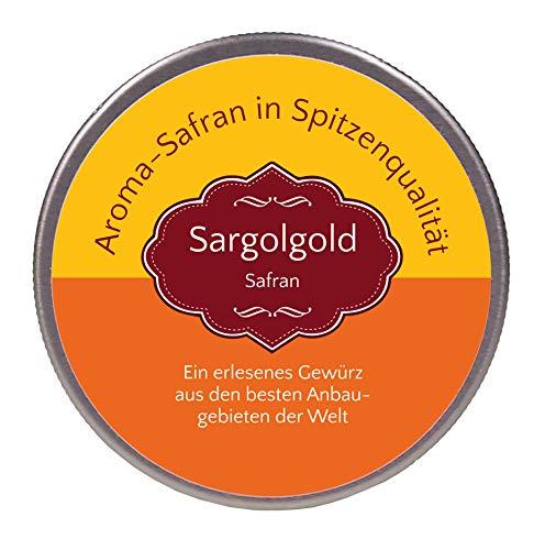 Sargolgold Safran-Fäden, Top-Qualität - Spitzenkategorie 1 (5 Gramm)