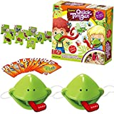 Tic Tac Tongue Board Games,Catch Bugs Game,Lizard Tongue Eating Pest Board Game,Frog Catch Bugs Toys,Educational Toy Gift for Kids,Family Desktop Game Interactive Toys