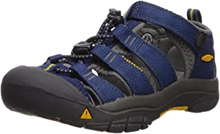 KEEN Shoes Boys' Newport H2 Sandals, Blue Depths and Gargoyle