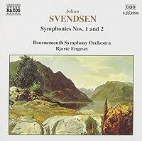 Symphonies 1 & 2 by SVENDSEN (1998-09-29)