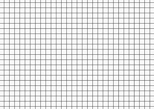 Brunnen 102260200 Karteikarte (A6 kariert, 100 Stück, eingeschweißt) weiß