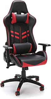 OFM Essentials Racing Style Gaming Chair Red