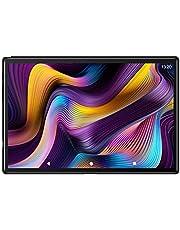 Tablet 10 Pollici con 5G WiFi 4G LTE Dual SIM, Android 10.0 YESTEL T5 Tablet PC Processore Octacore da 1.6 GHz, Face ID, HD Display, Batteria 6000mAh, 64 GB Espandibili Fino a 128 GB, 3 GB RAM, Nero