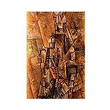 Pablo Picasso Klassisches Ölgemälde Klarinette Kubismus
