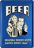 Cartel de chapa 15 x 21 cm cerveza Beer Funny frase MJ 178