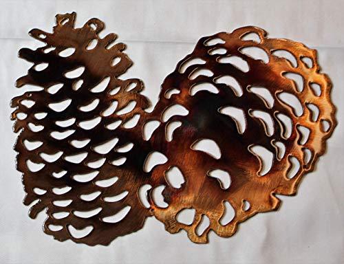 Pine Cones Metal Wall Art Accents 9