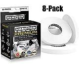 "White Finger Tape (8 Pack) - Athletic Tape | 0.3"" x 45 Feet - for Rock Climbing, BJJ Jiu Jitsu, Grappling,..."