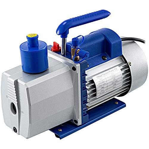 Mophorn 8CFM Pompa Vuoto del Refrigerante Kit HVAC Pompa Vuoto per Condizionatori (8CFM 3/4HP)