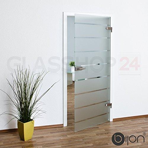 bijon® Glastür T5 | Studio/Studio | 834x1972mm | DIN Links