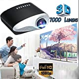 Best 1080 Projectors - Langle 1080P HD Play Projector Household Audio Video Review