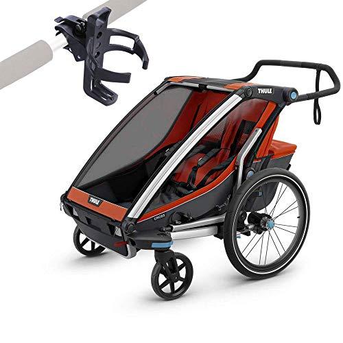 Thule Chariot Cross 2 Multisport Trailer Roarange/Dark Shadow...