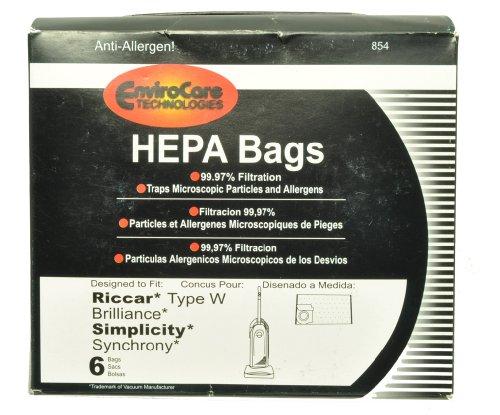 Riccar Vacuum Cleaner Replacement Bag - 8