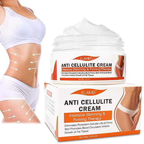 Hot Cream, Cellulite Cream for 100% Complete Cellulite Removal - Slimming Cream with Caffeine Cellulite Treatment - Body Fat Burning Weight Loss Cream for Shaping Waist, Abdomen and Buttocks